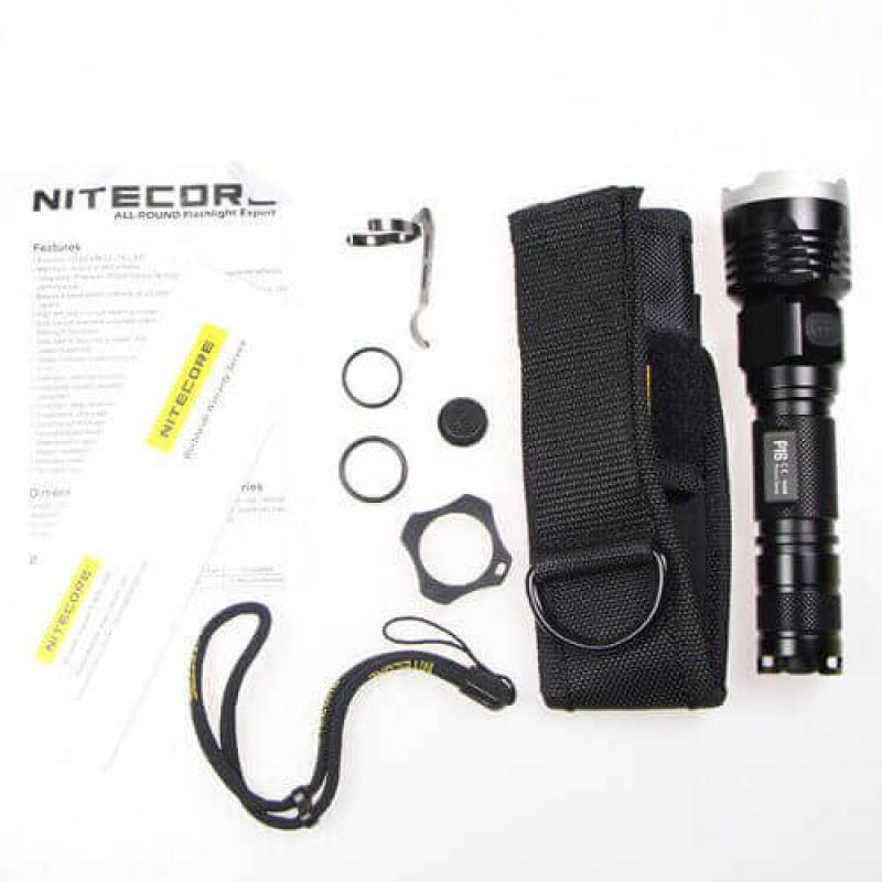Тактически фенер с 960 лумена Nitecore P16