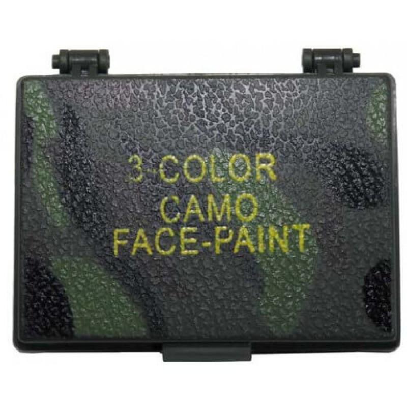Трицветни бои за камуфлаж