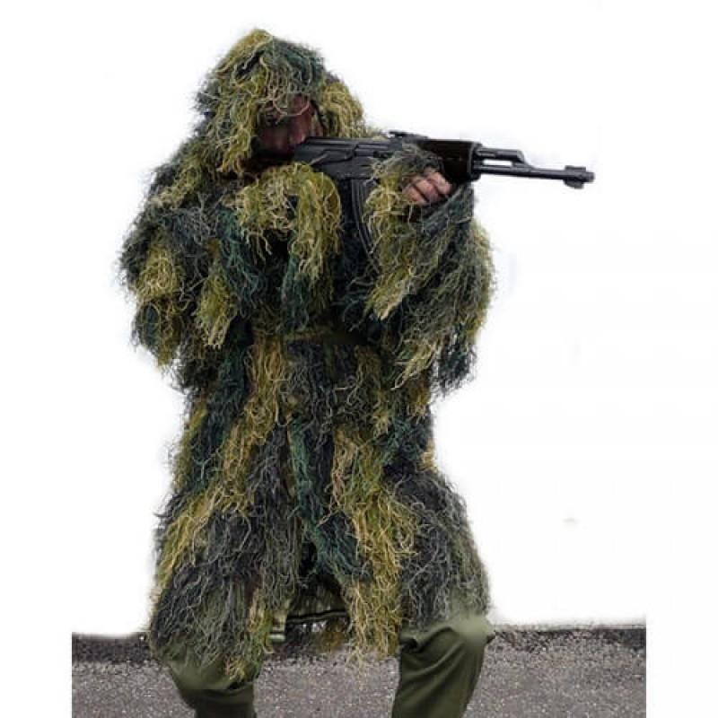 Гили костюм WOODLAND тип пончо