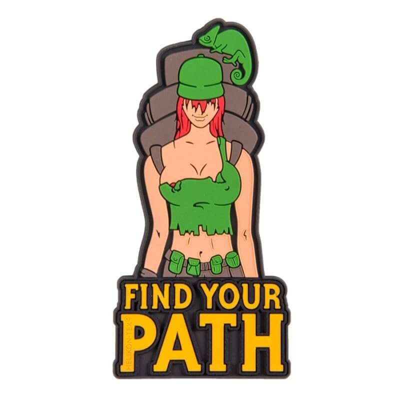 Find Your Path велкро нашивка