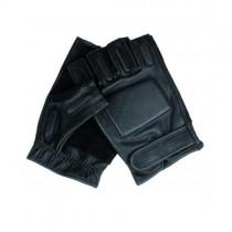 Кожени ръкавици без пръсти Security
