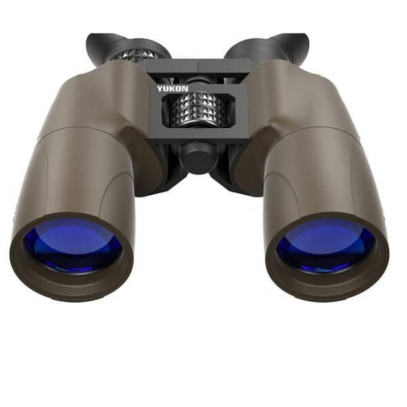 Ловен бинокъл за наблюдение при здрачаване от серията на Yukon Solaris 10x50WP