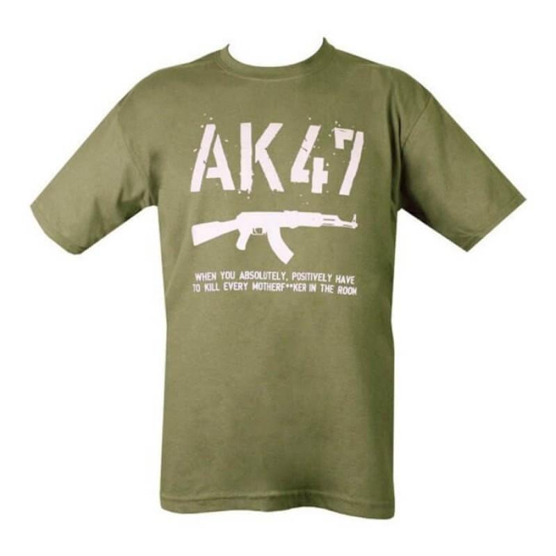 АК47 мъжка тениска на Kombat.uk