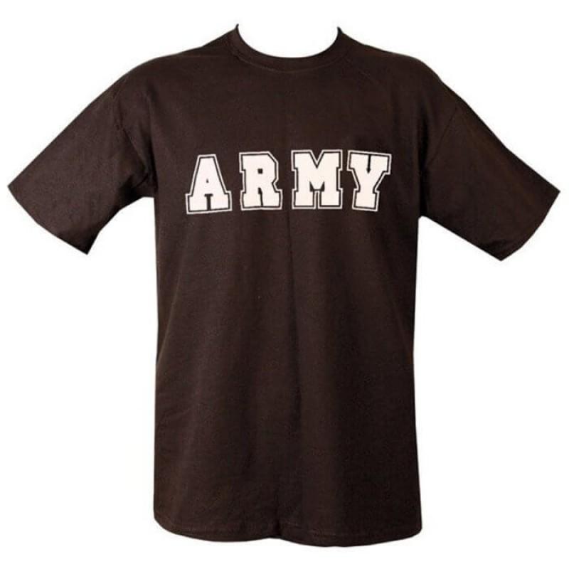 Army памучна тениска с къс ръкав на Kombat.uk