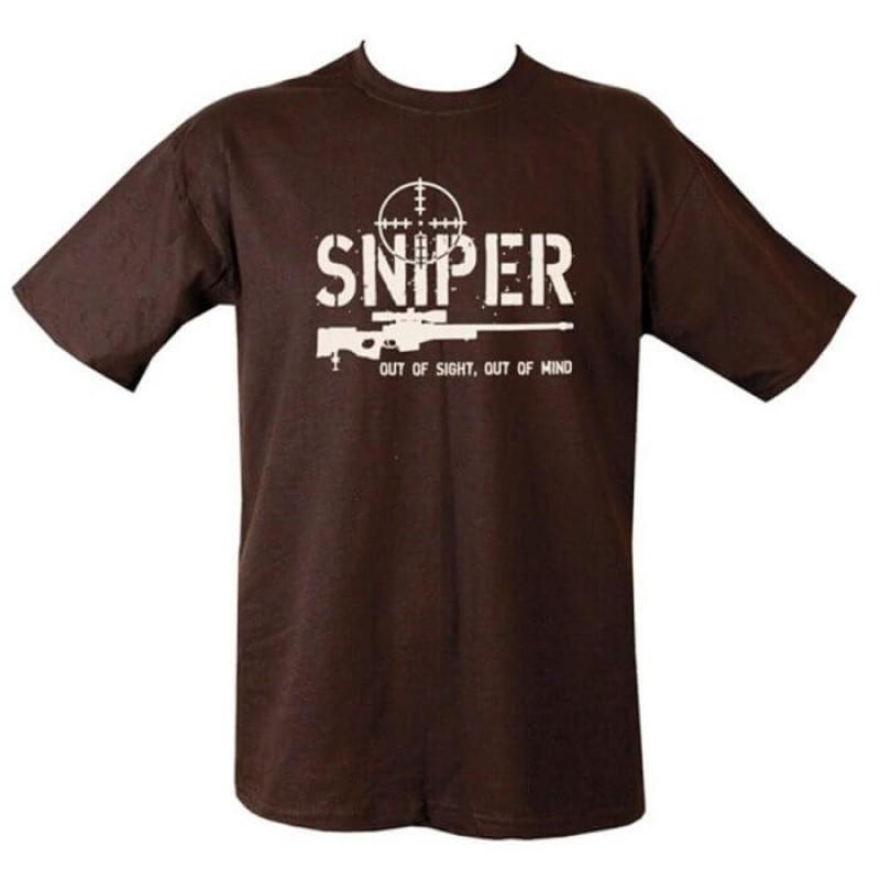 Sniper мъжка тениска на Kombat.uk