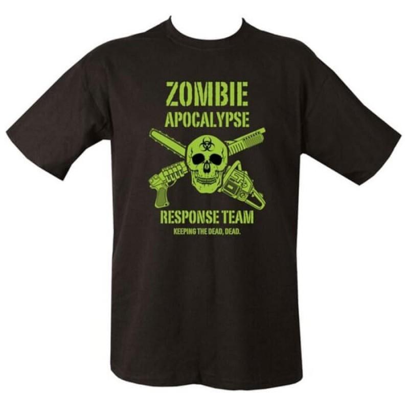 Памучна тениска Zombie Apocalypse