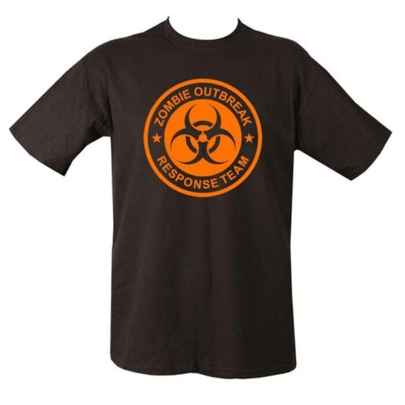 Zombie Outbreak мъжка тениска на Kombat.uk