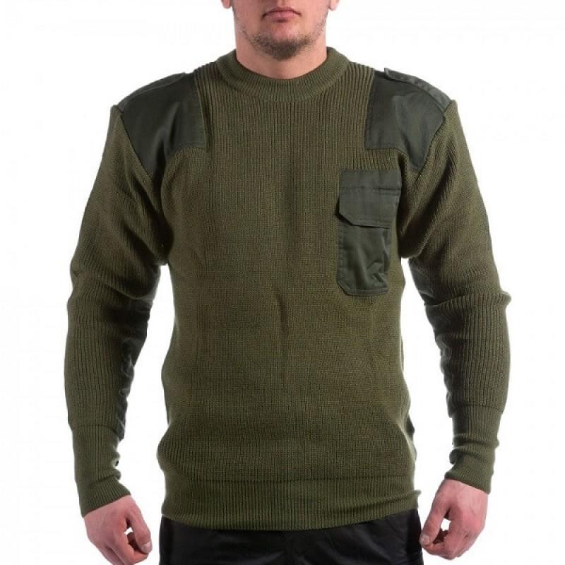 Зимен пуловер Бундесвер