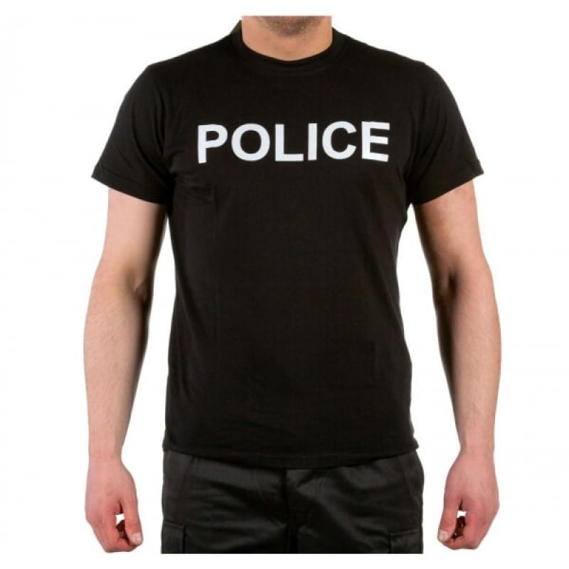 Тениска с щампа POLICE