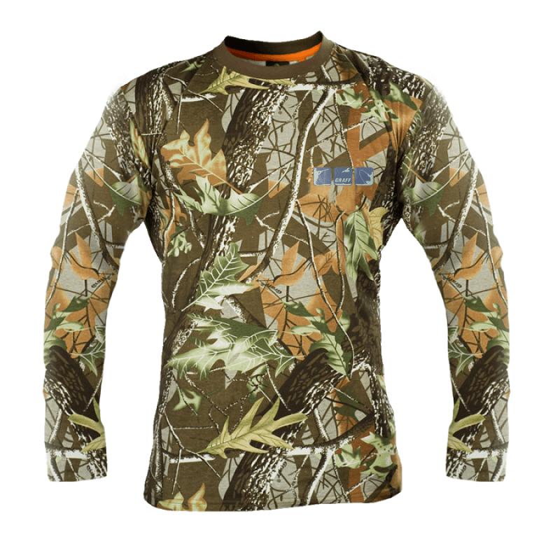 Камуфлажна блуза с дълъг ръкав Forest