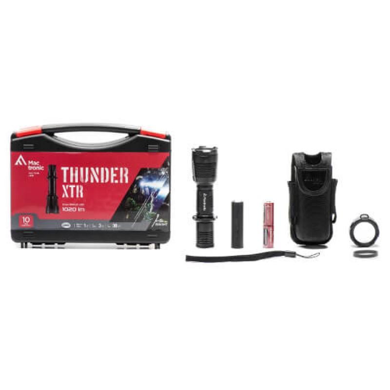 Удароустойчив и водоустойчив фенер Mactronic THUNDER XTR 1020 lm