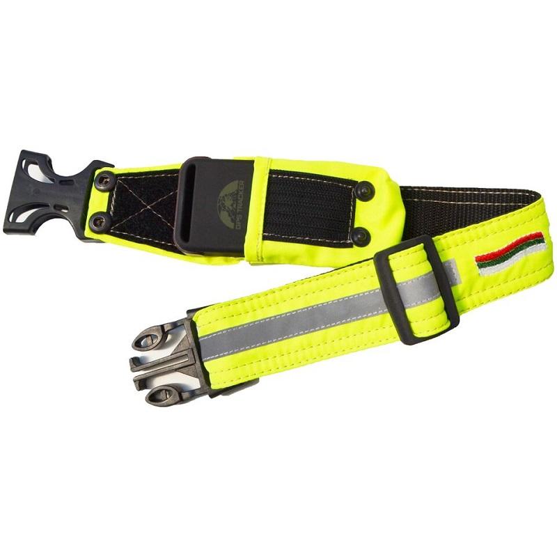 Комплект каишка и GPS тракер за следене на ловно куче