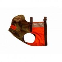 Отворена предпазна къса жилетка за кучета