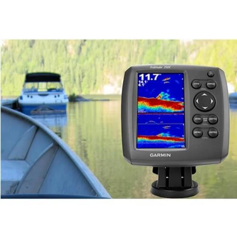 Сонар Garmin Fishfinder за откриване на пасажи риба