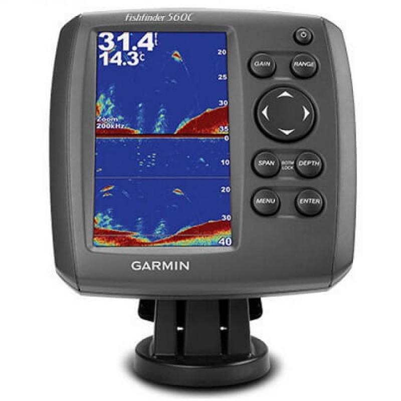 Garmin сонар - ехолот за намиране на риба Fishfinder