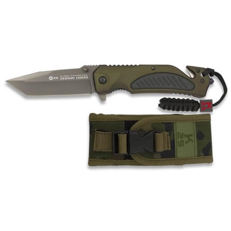 Ловен сгъваем тактически нож K25