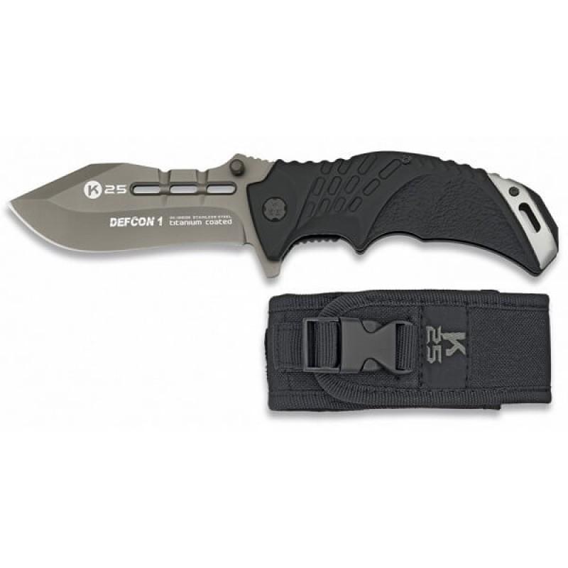 Сгъваем ловен тактически нож K25