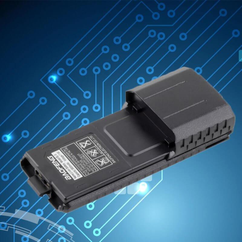 Мощна литиево-йонна батерия 3800 mAh за радиостанция Baofeng UV-5R