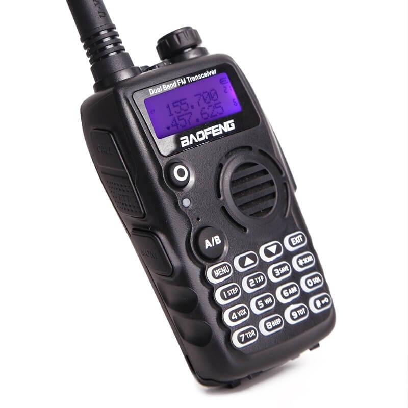 5W Професионална радиостанция с две честоти и 128 канала Baofeng