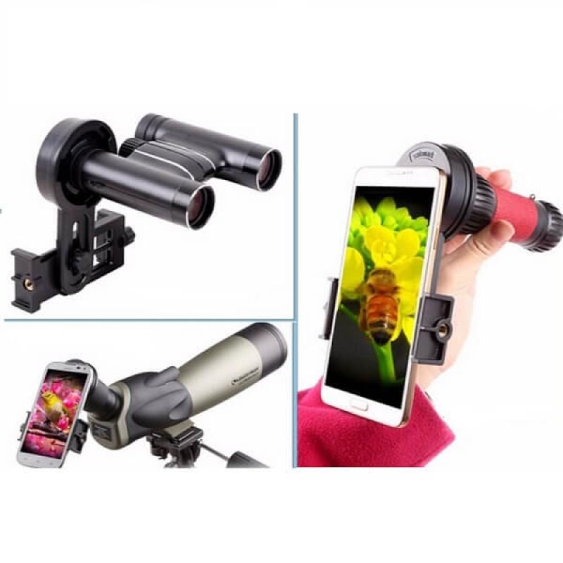 Ловна стойка свързваща оптичен уред със смартфон