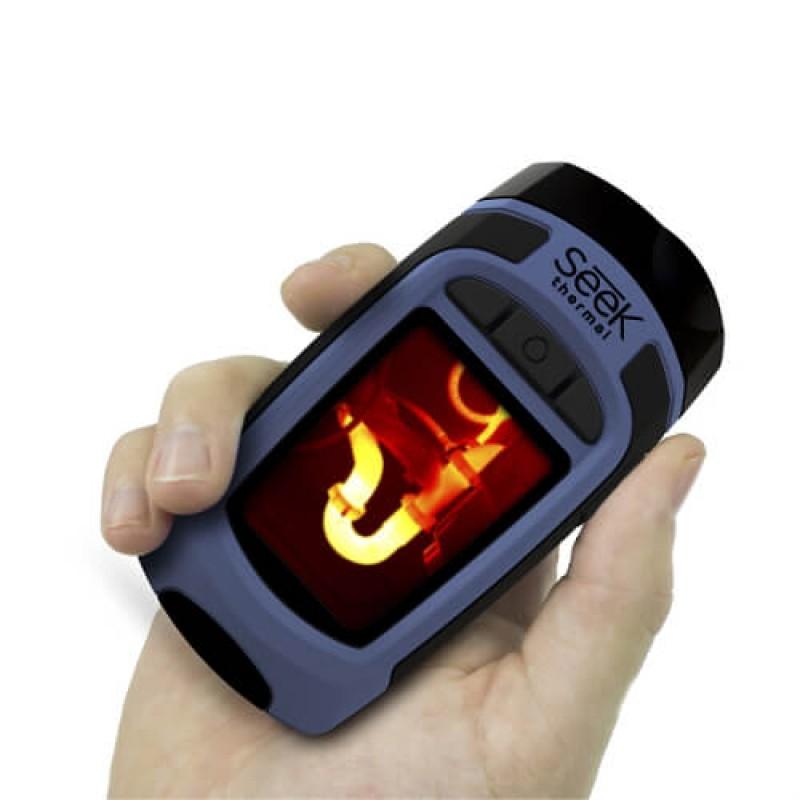 Ръчна термовизионна камера с 300 Lumen LED лампа и голям обхват SEEK